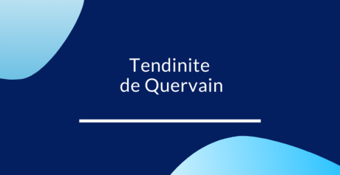Tendinite de Quervain